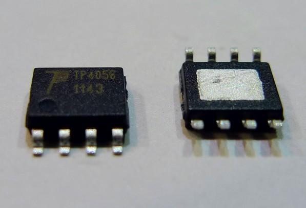 产品简介: TP4056是一款完整的单节锂离子电池采用恒定电流/恒定电压线性充电器。其底部带有散热片的SOP8封装与较少的外部元件数目使得TP4056成为便携式应用的理想选择。 TP4056可以适合USB电源和适配器电源工作。由于采用了内部PMOSFET架构,加上防倒充电路,所以不需要外部隔离二极管。热反馈可对充电电流进行自动调节,以便在大功率操作或高环境温度条件下对芯片温度加以限制。充电电压固定于4.