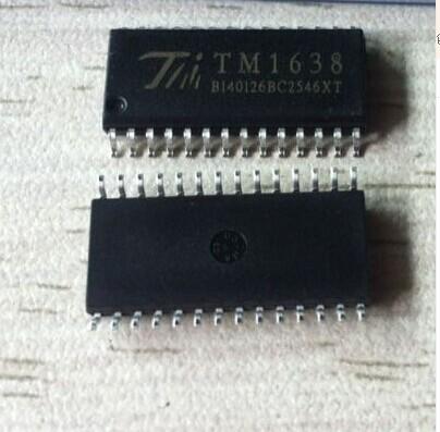 全新原装正品tm1638sop28ed数码管驱动芯片