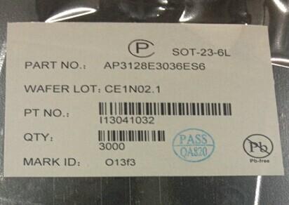 供应背光驱动芯片ap3128ap3128e3036es6全新原装现货