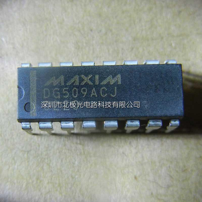DG509ACJ 多路器开关 IC 制造商:Maxim Integrated 通道数量:1 Channel 导通电阻最大值:550 Ohms 运行时间最大值:1.5us 空闲时间最大值:1us 工作电源电压:15V 最大工作温度:+70C 安装风格:Through Hole 封装 / 箱体:PDIP-16 Narrow 商标:Maxim Integrated 高度:4.45 mm (Max) 长度:19.
