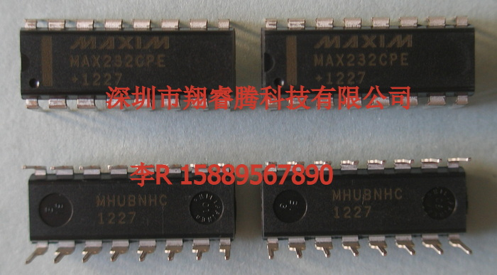 MAX232CPE系列线驱动器/接收器,专为EIA/TIA-232E以及V.28/V.24通信接口设计,尤其是无法提供12V电源的应用。 MAX232CPE不需要外部元件,推荐用于印刷电路板面积有限的应用。 MAX232CPE现有26种不同封装,可操作温度范围从0至+70C,也可达到-55C至+125C。更多封装及温度选择,请参见数据资料末页订购信息。 关键特性 节省占位面积 集成电荷泵电路 去掉双极12V供电 实现+5V供电时单电压操作 集成电容(MAX223、MAX233、MAX235和MAX245
