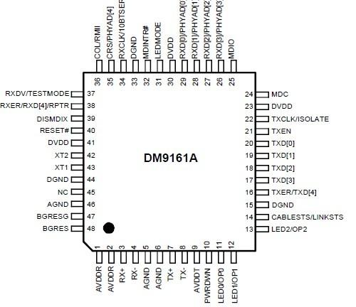 dm9161aep-集成电路-51电子网