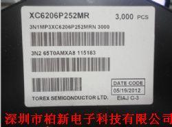 XC6206P252MR产品图片