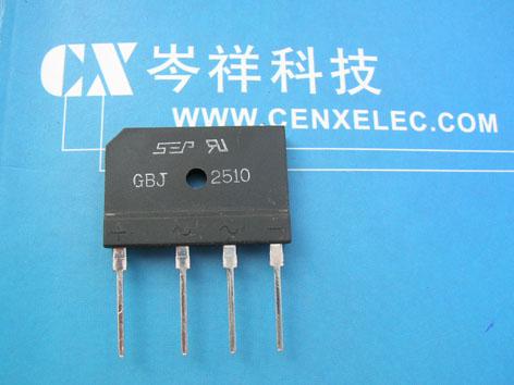 gbj2510和二极管接线图