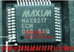 MAX9217ECM产品图片