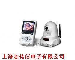 2.4G无线摄像机/无线婴儿看护器/,带锂电,夜视,音频,可摇控旋转产品图片