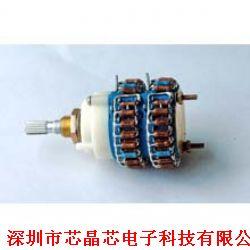 4X24档级进式电位器(DALE电阻) 产品图片