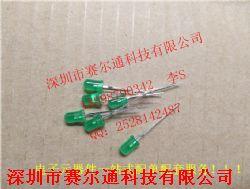 发光二极管LED F3绿 长脚产品图片