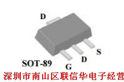 sot-89 30V 贴片MOS管产品图片