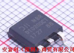 二极管   MBRD10200CT   整流器 - 阵列产品图片