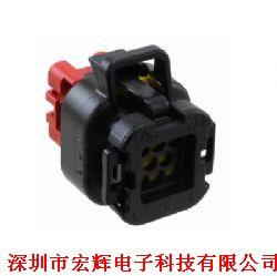 TE/AMP原装汽车防水连接器胶壳776286-1 8Pin黑色